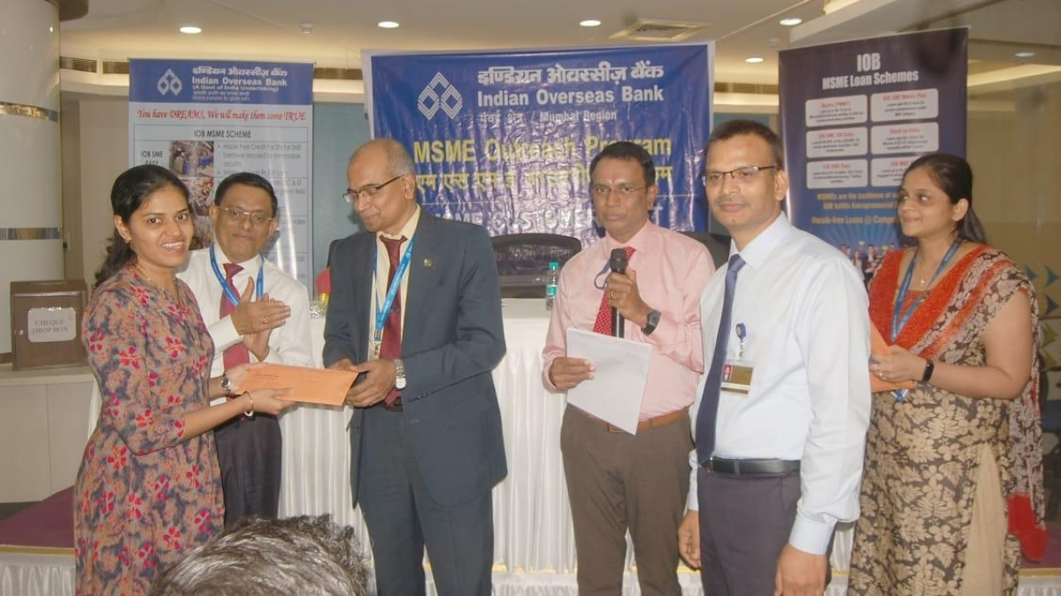 IOB conducts MSME Outreach Program & MSME Customers Meet programme