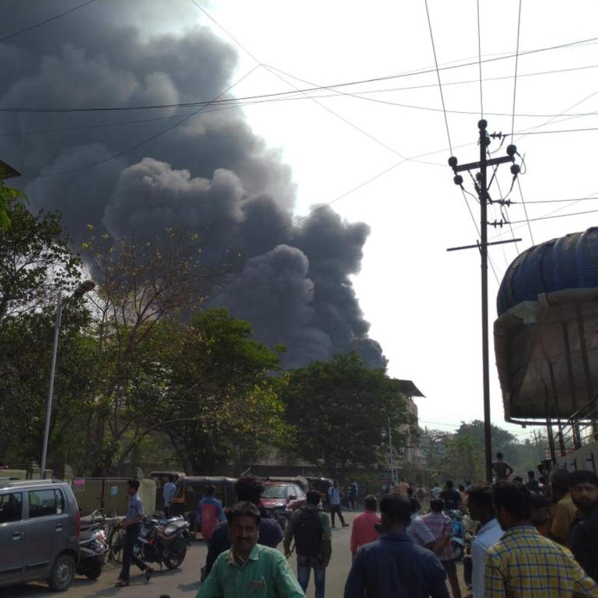 Mumbai: Fire guts Dombivli chemical factory