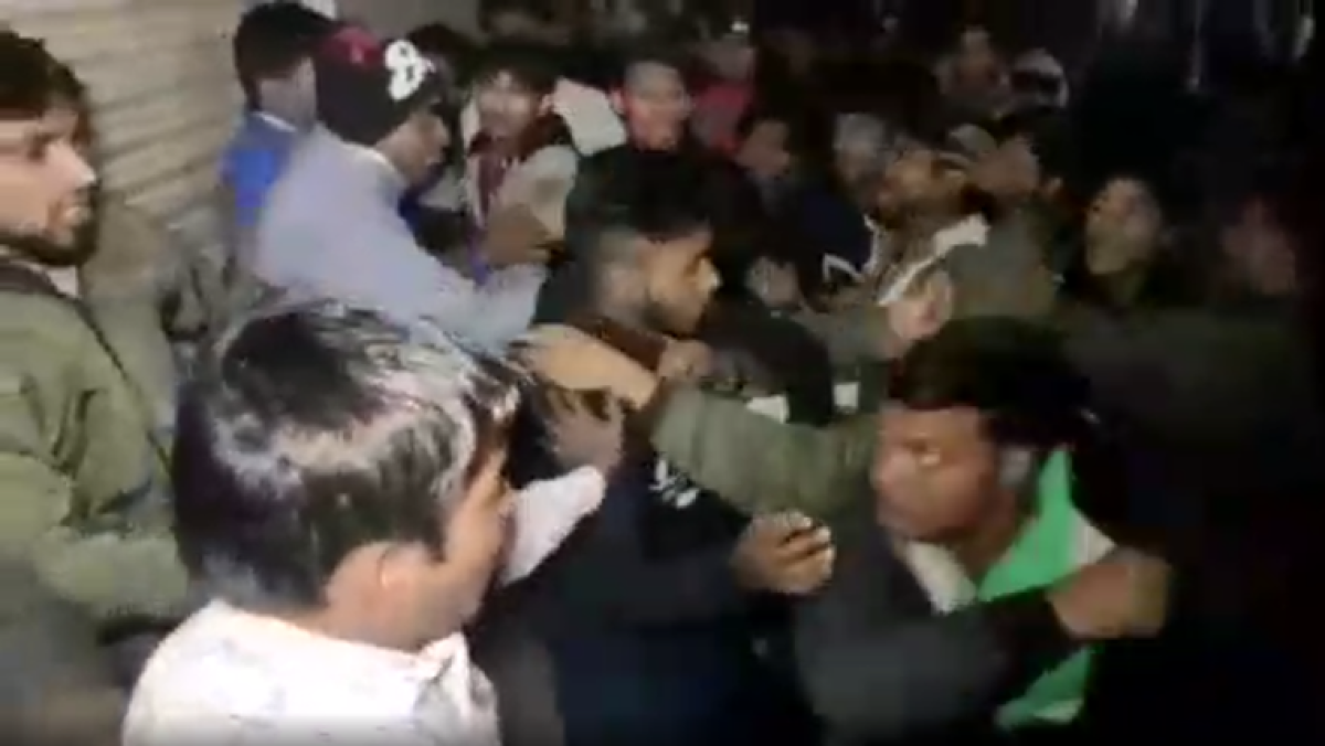 Minority community thrashes TMC leaders addressing CAA-NRC protest rally in West Bengal's Madhyamgram