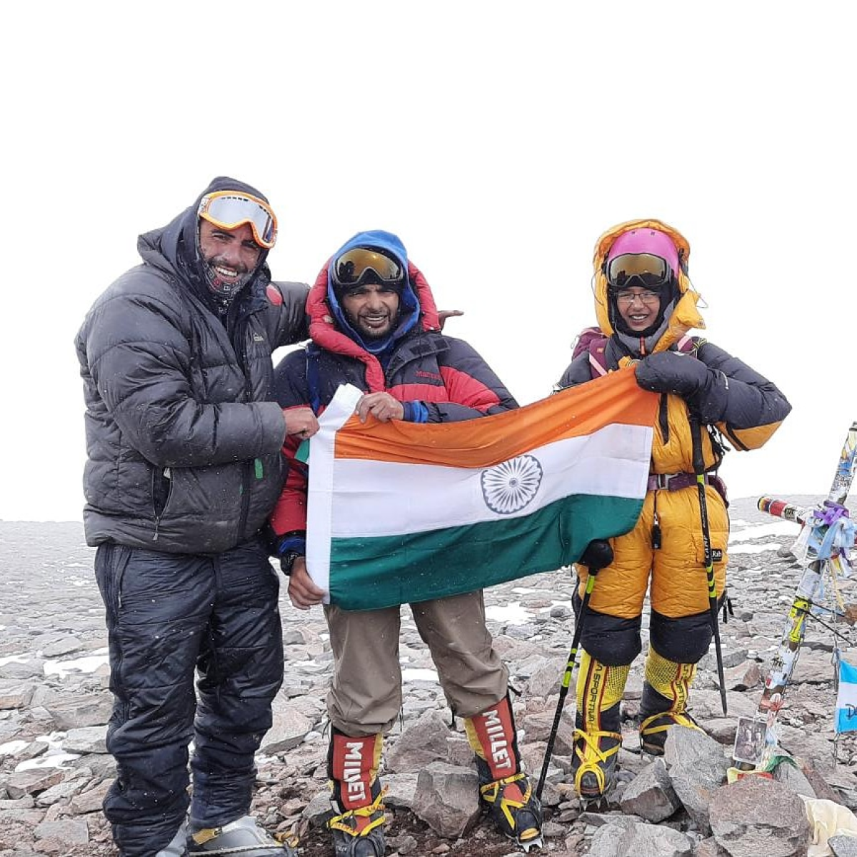 12-year-old Mumbai girl becomes youngest to scale Mt. Aconcagua