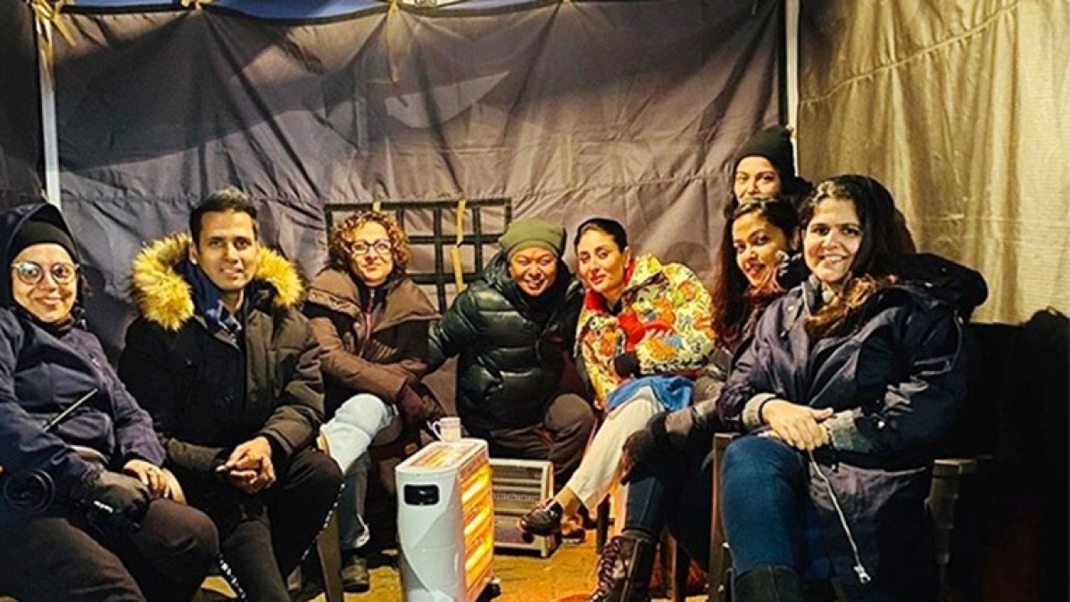 Kareena Kapoor Khan shares 'Laal Singh Chaddha' BTS moment amid chilly weather