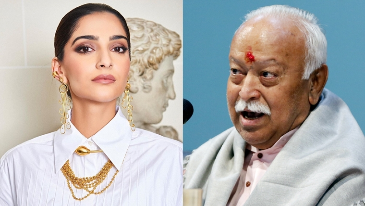 'Which sane man speaks like this?': Sonam Kapoor slams RSS chief Mohan Bhagwat for stating 'divorce cases more in educated  families'