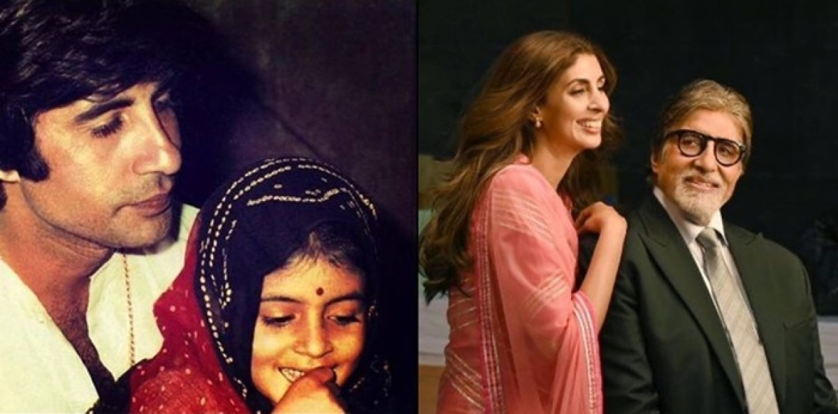 Amitabh Bachchan feels proud as daughter Shweta Bachchan conducts her first-ever fashion show