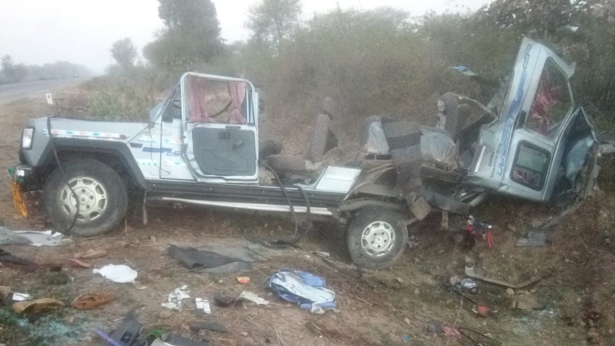 Madhya Pradesh: 9 of Mandsaur family killed in Rajasthan accident
