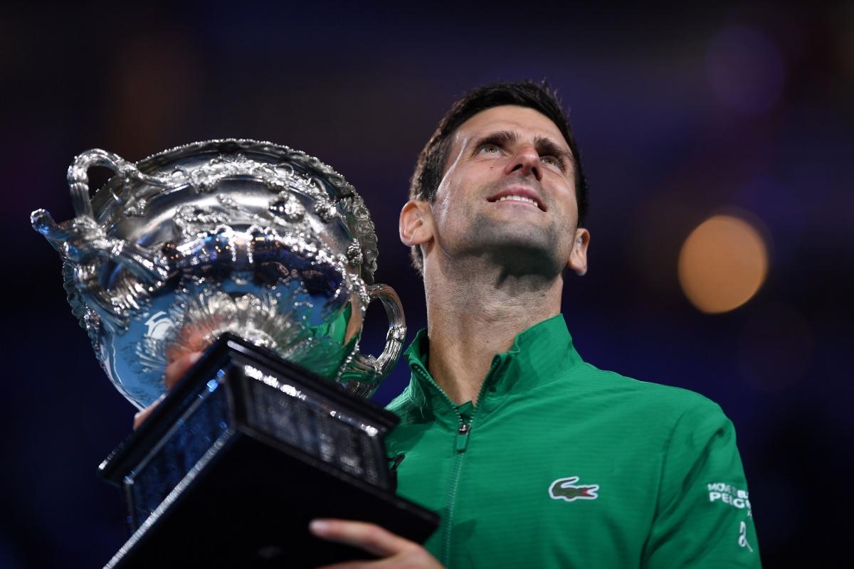 No time for Thiem: Novak Djokovic sees off Dominic Thiem to lift eighth Australian Open