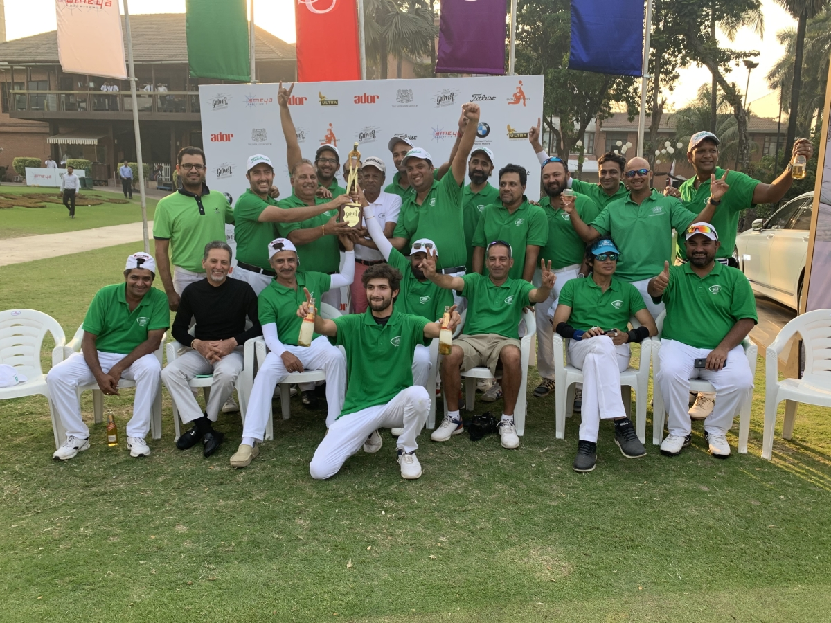 Bombay Presidency Golf Club emerge champions of Grover Zampa Vineyards Inter-Club Golf Championship.