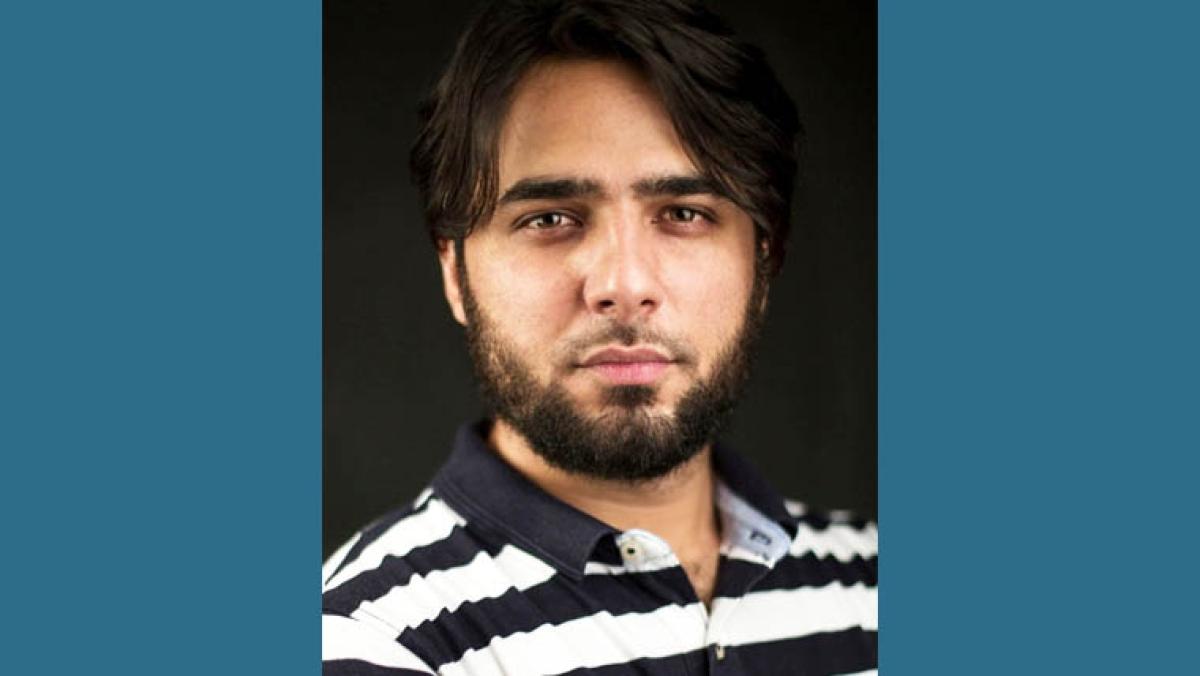 Freelance reporter Ahmer Khan