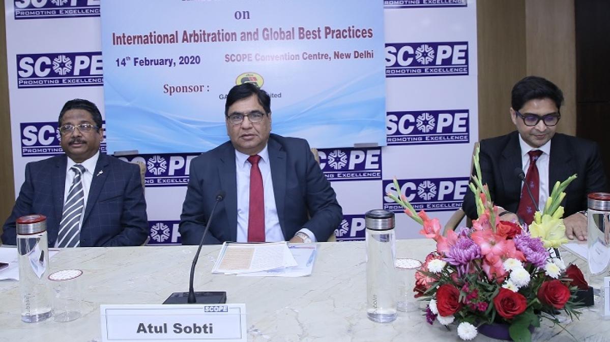 SCOPE organises program on International Arbitration and Global Best Practices