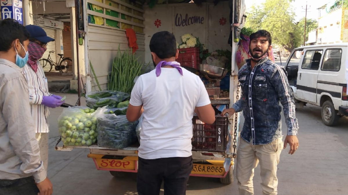 Indore: IMC employees to take grocery order from houses from today amid lockdown