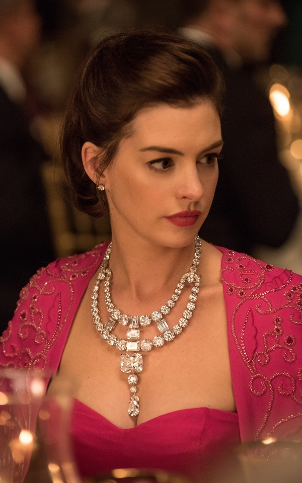 The necklace was recreated for Ocean's 8 which was worn by  Anne Hathway in the movie