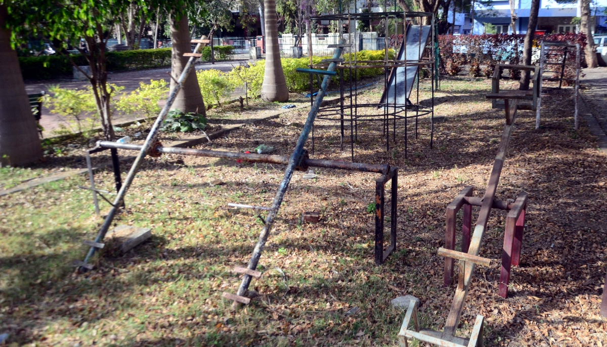 Bhopal: Thanks to CPA's apathy, Arera Colony residents shell money for park's upkeep