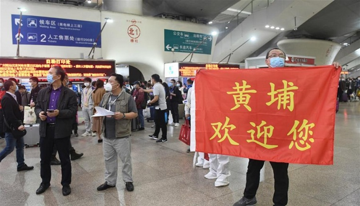 Coronavirus Update from China: China's Hubei sends over 1,600 migrant workers to Guangdong
