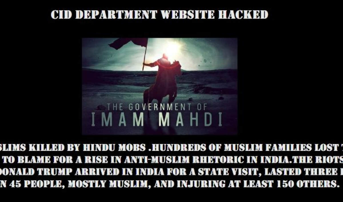 'Modi government, stop hurting Muslims': Maha CID website hacked by Legion on behalf of 'Imam Mahdi'