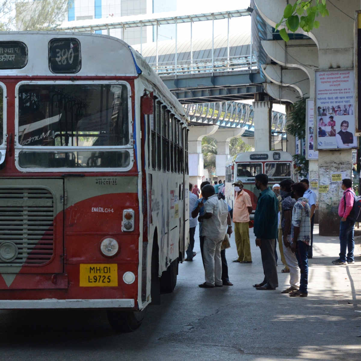 Coronavirus in Mumbai: BEST to continue bus services for essential service personnel