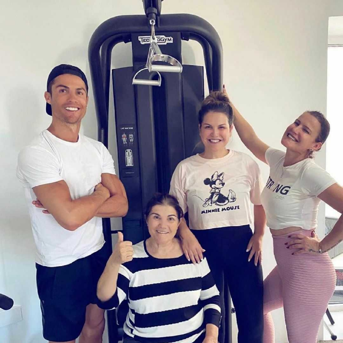 'Look after your loved ones': Cristiano Ronaldo shares family picture amid mother's recovery from stroke