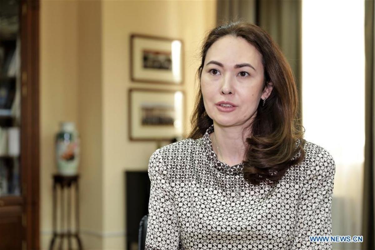 Gulnar Shaimergenova, director of the China Studies Center (Kazakhstan).