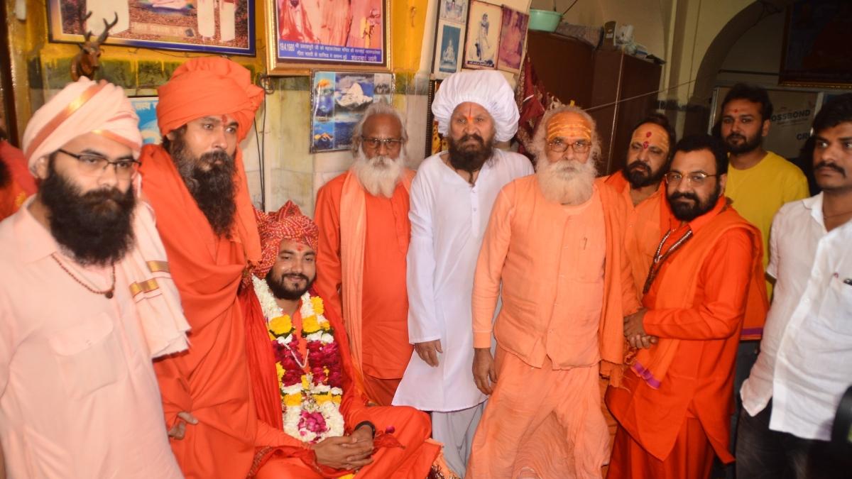 Ujjain: Mahant Vineet Giri takes Mahakal's gaadi