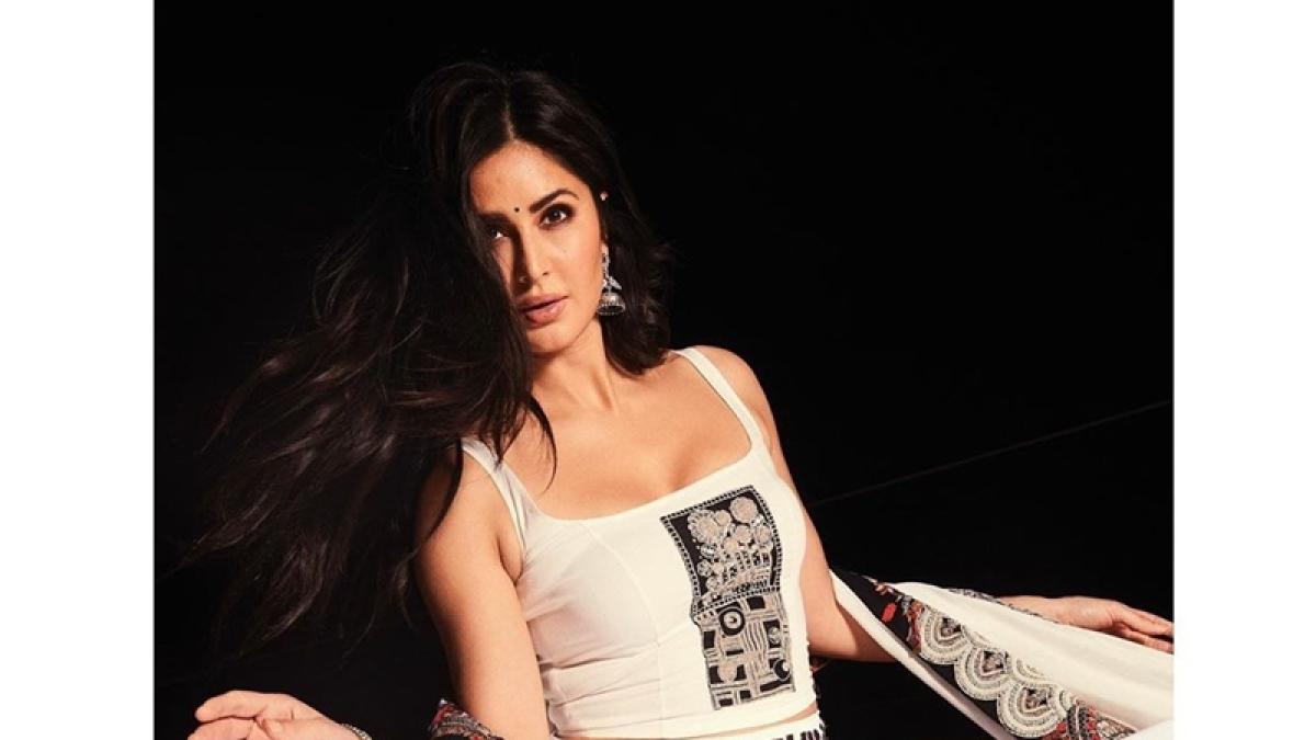 Katrina Kaif tries her hand at guitar amid social distancing