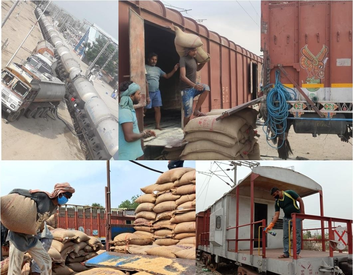 Western Railway ensures the supply of essential commodities across all parts of the country despite the coronavirus lockdown