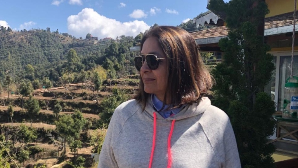 Neena Gupta tells fans of her hair colour 'jugad' amid lockdown