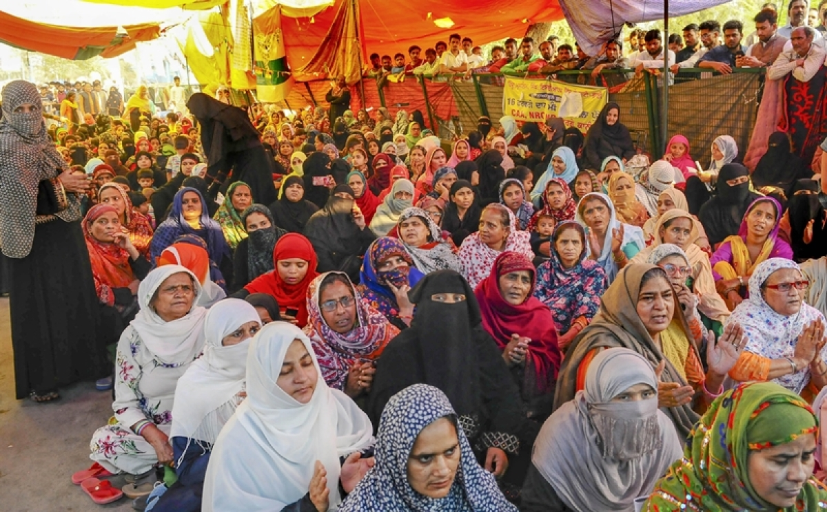 'We offer namaz five times a day and wash our hands every time': Shaheen Bagh women to continue protests amidst coronavirus pandemic