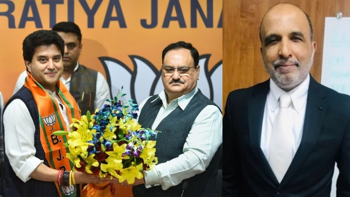 'Felt odd seeing you with saffron party scarf': Sanjay Jha gets emotional after Jyotiraditya Scindia joins BJP
