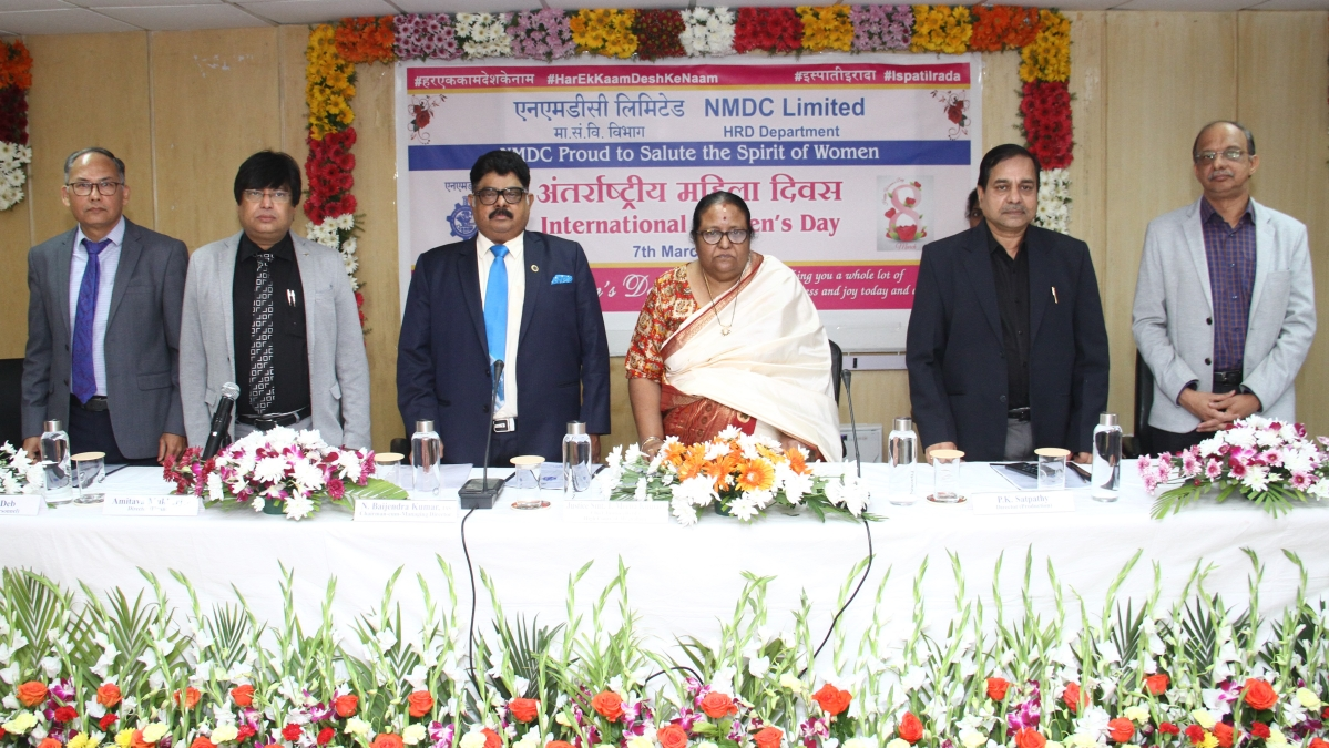 NMDC celebrates International Women's Day