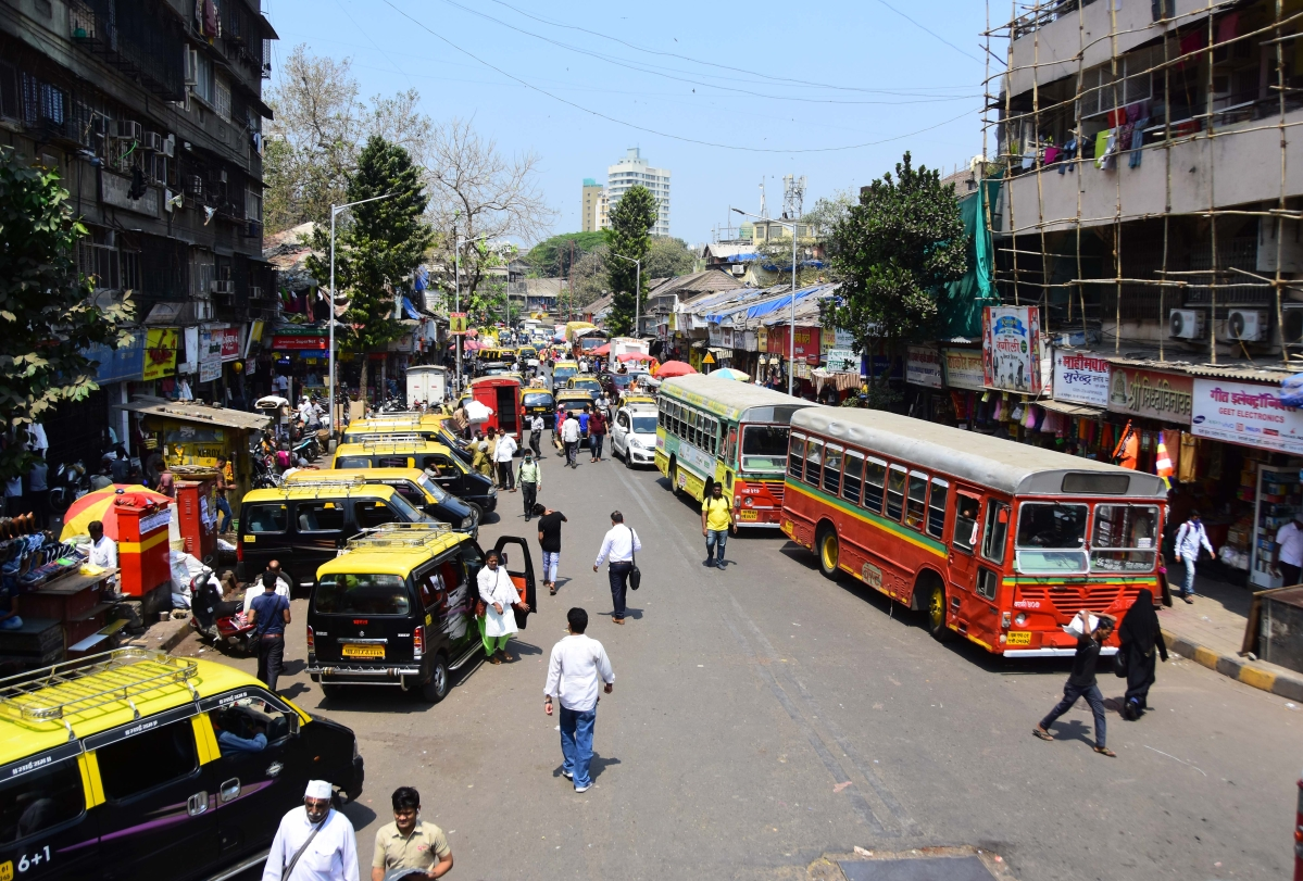 Dadar market observes less buyers comparatively the regular rush.