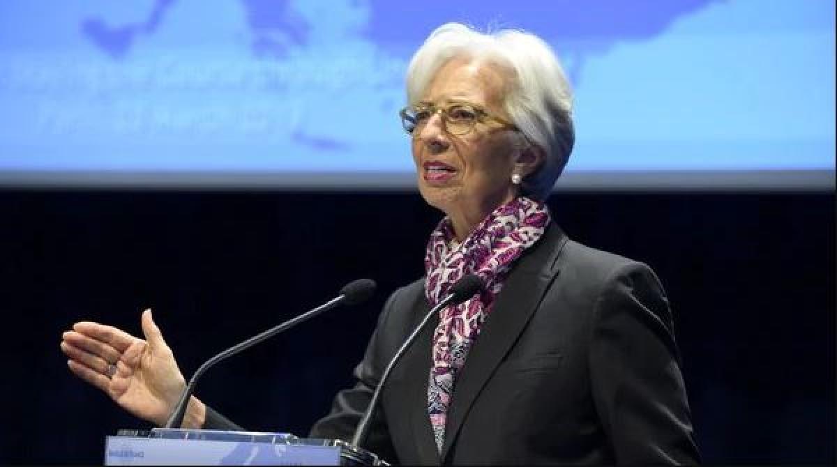 European Central Bank President Christine Lagarde