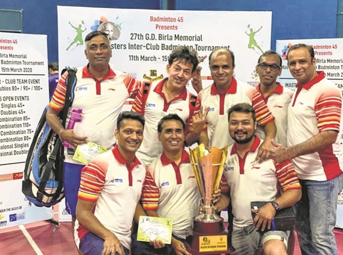 MIG Cricket Club and Goregaon Sports Club teams