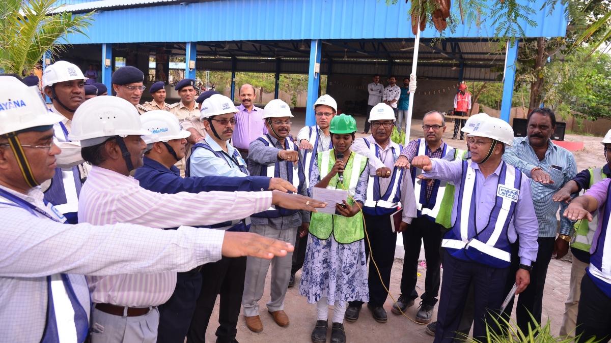 49th National Safety Week celebrations begin at NTPC-Ramagundam/Telangana
