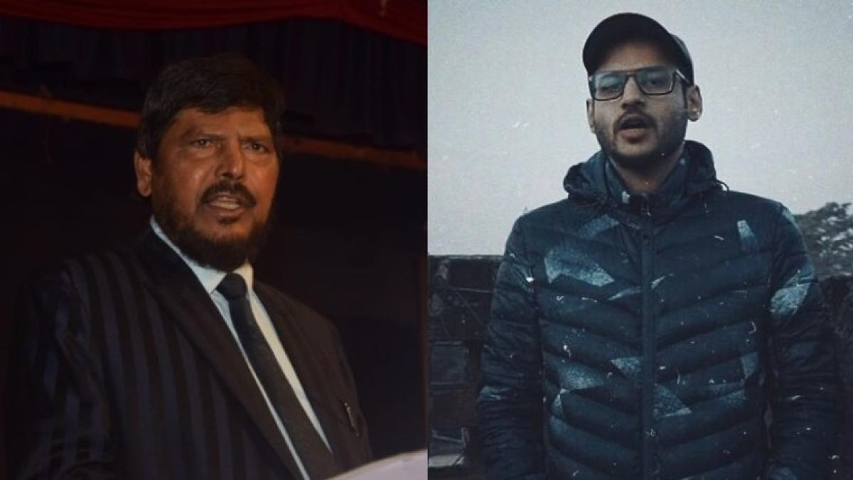Ramdas Athawale and Dub Sharma