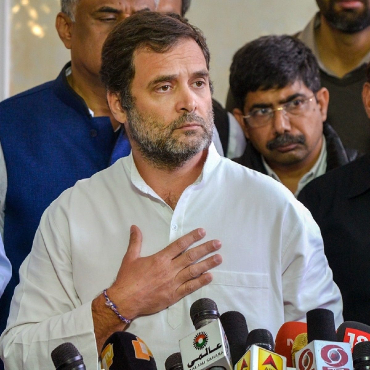 Lifesaving medicines should be made available to Indians first: Rahul Gandhi