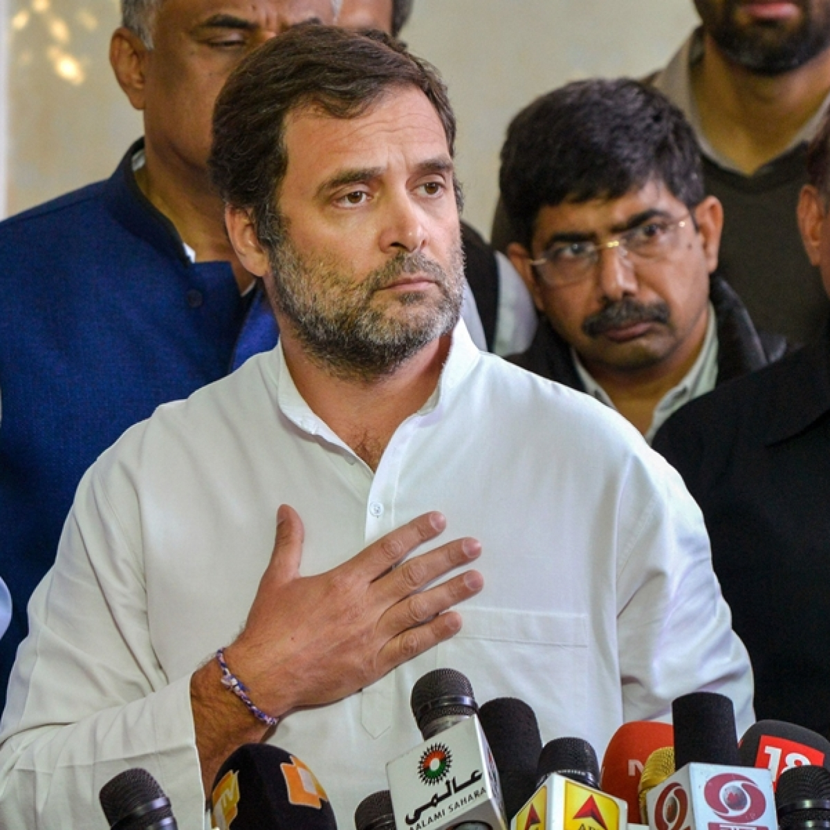 Rahul says Narendra Modi is Surender Modi, Twitter wonders if it's a typo