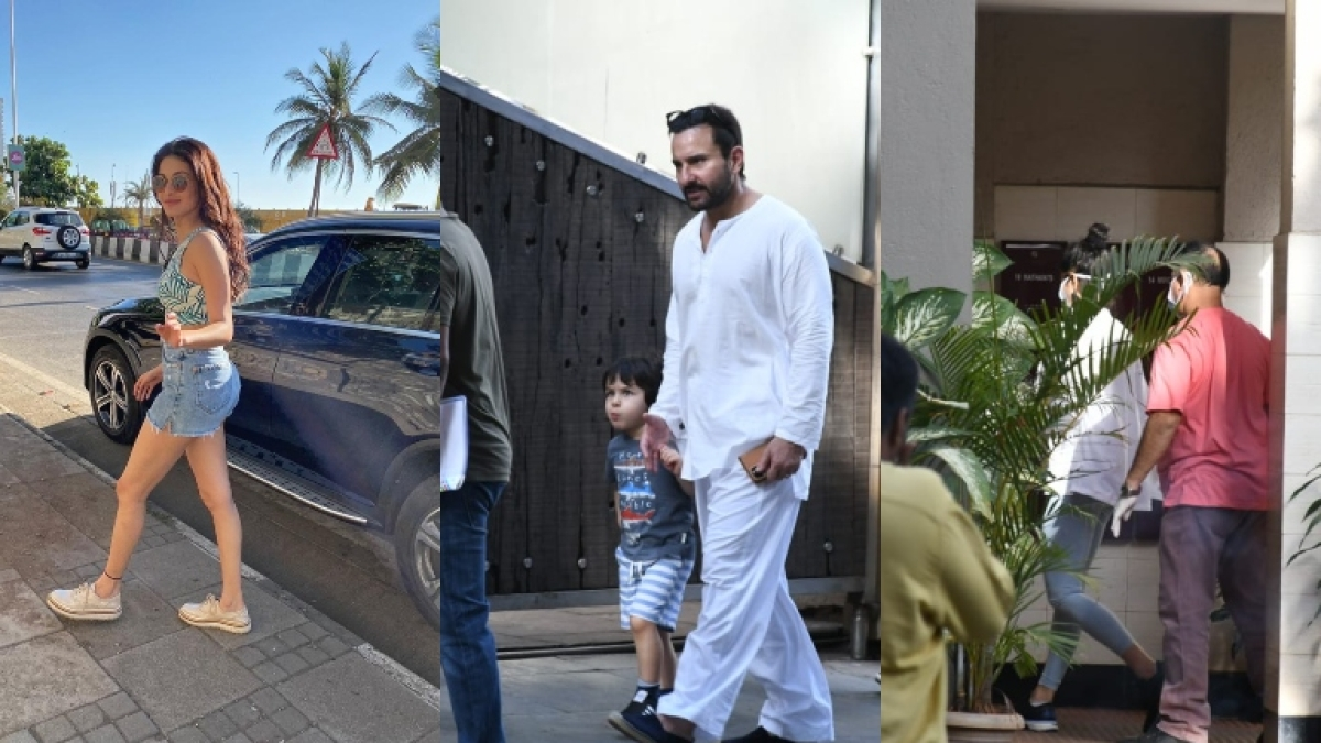No social distancing for B-town's demigods: Katrina Kaif, Taimur, Saif Ali Khan and others step out amid coronavirus lockdown