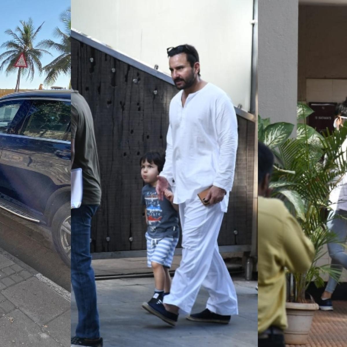No social distancing for B-town's demigods: Katrina Kaif, Taimur, Saif Ali Khan and others step out amid coronavirus lockdown