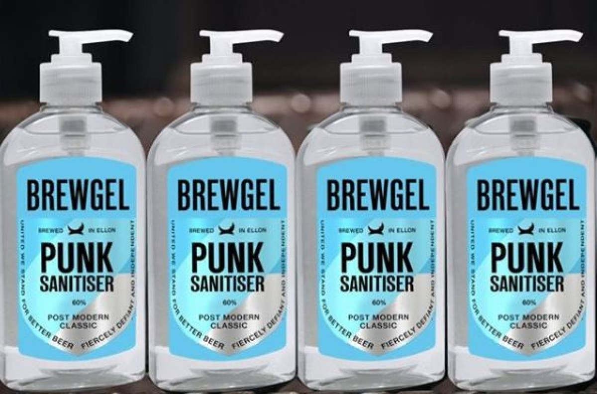 British beer giant, BrewDog  creates hand sanitiser
