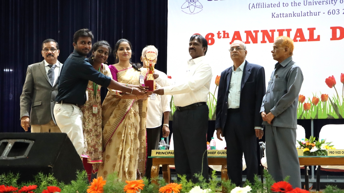 SRM Arts And Science College celebrates Annual Day 2019 - 2020