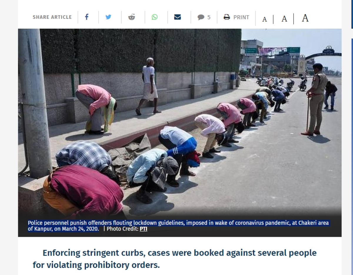 Rana Ayyub, William Dalrymple share picture of coronavirus lockdown violators as migrant labourers, deletes tweet later
