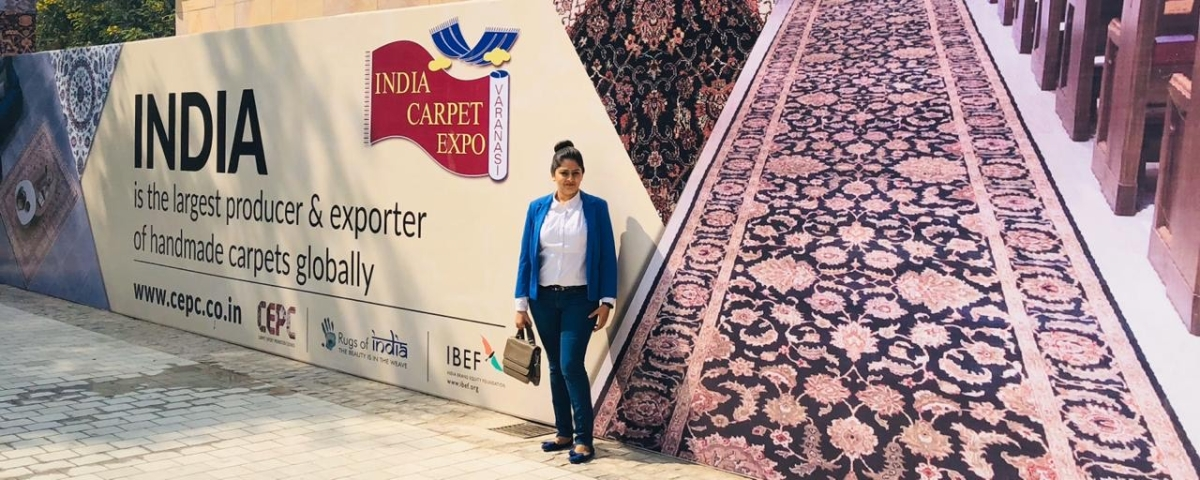 Khushi Jain, Creative Director of Village Weavers, Mirzapur is one of those who will face losses because the expo has been cancelled