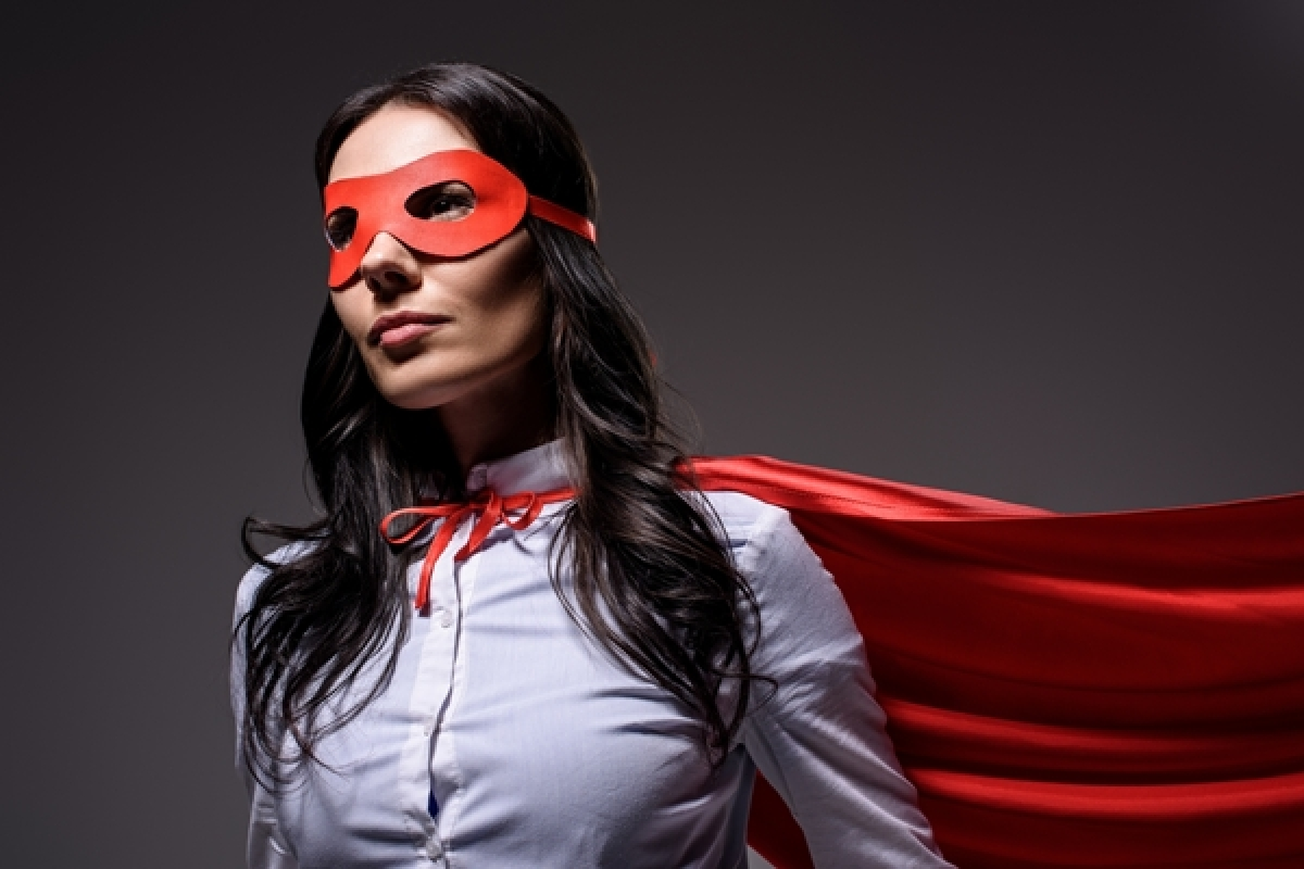 Tea & Therapy: The make-up of a Superwoman