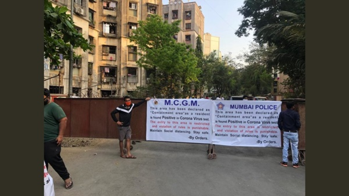 Coronavirus in Mumbai: Six buildings, in Bimbisar Nagar, Goregaon east declared contaminated zone