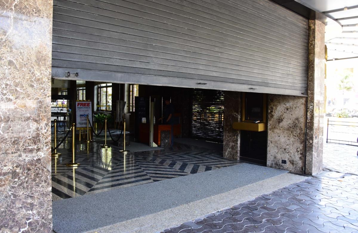 Mumbai's Metro Cinema shut down amid coronavirus threat.