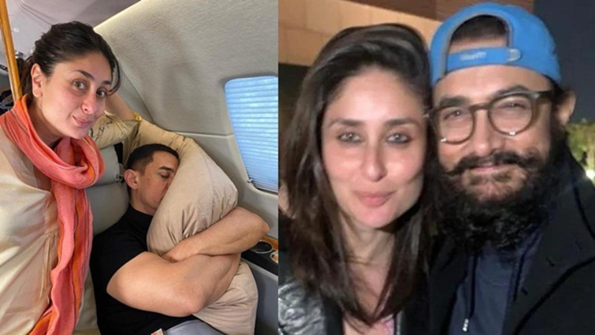 Kareena Kapoor Khan wishes 'Lal Singh Chaddha' co-star Aamir Khan, shares fun selfie