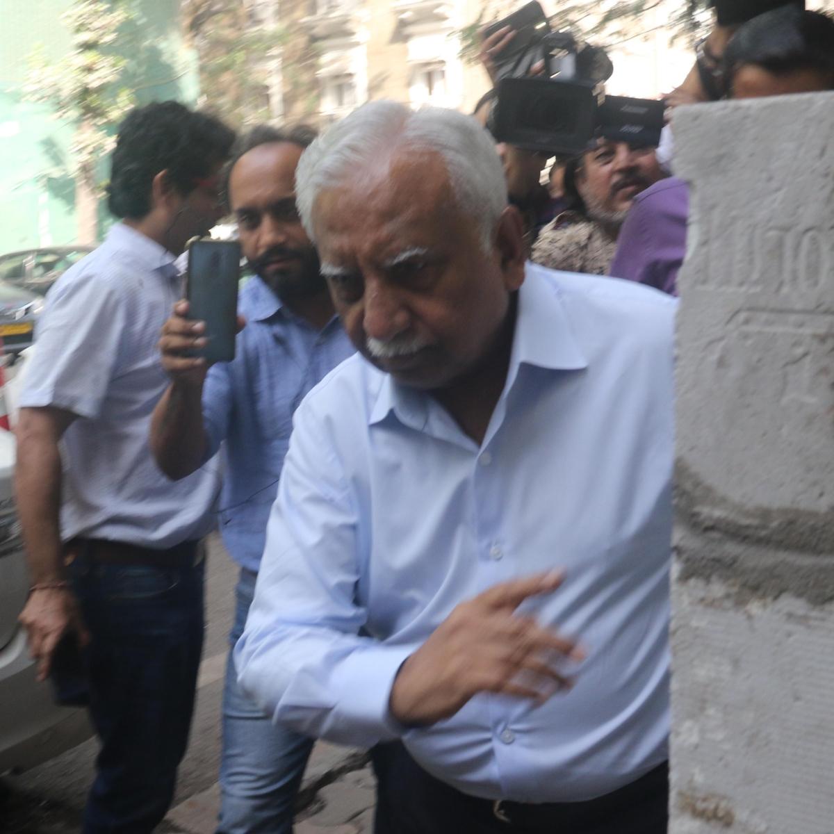 Mumbai: Naresh Goyal, founder of the now-grounded Jet Airways outside ED office