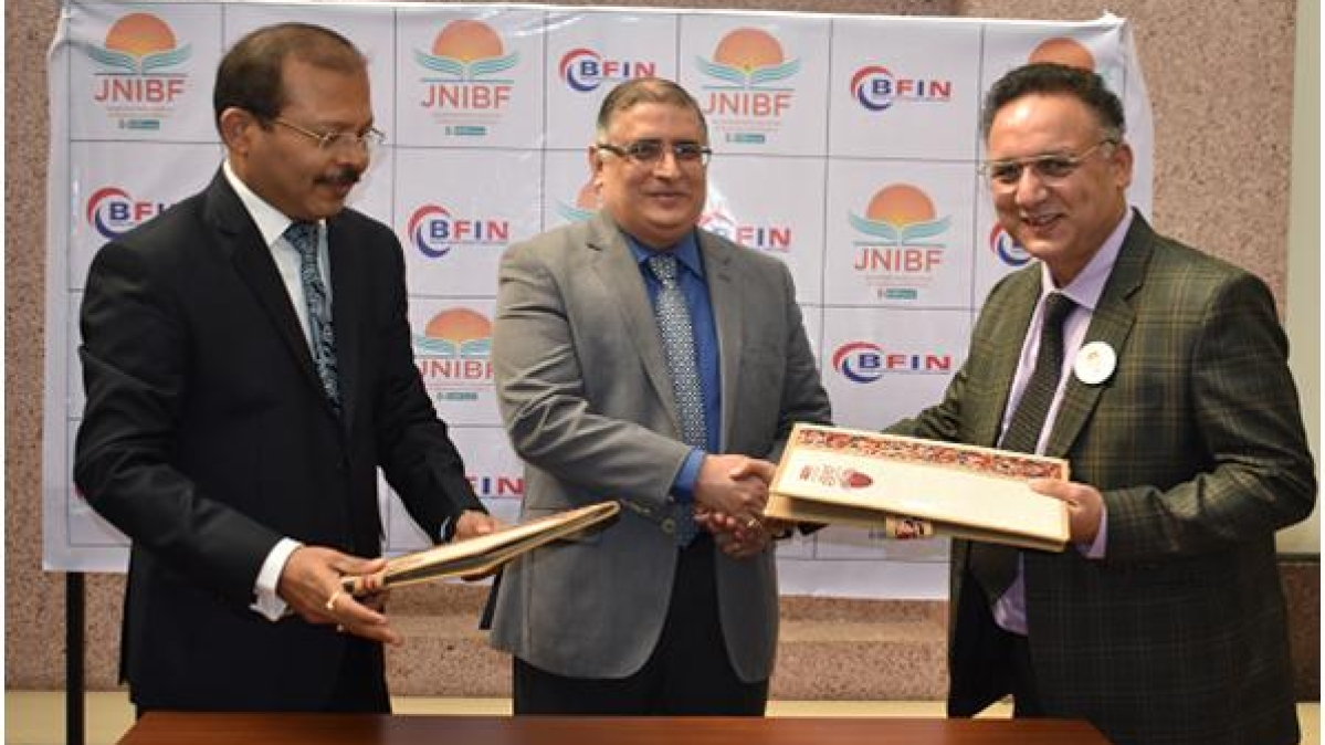 JNIBF and BFIN, Nepal sign MOU for a joint collaboration on Training and allied areas