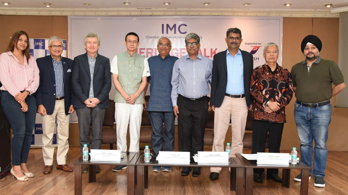 IMC organises 'Heritage Talk'