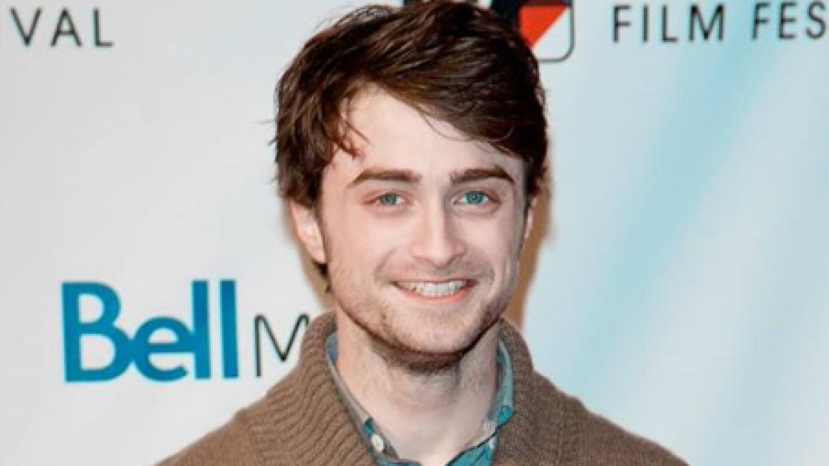 British actor Daniel Radcliffe