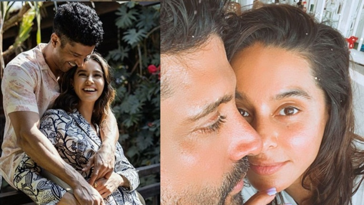 Love in the Time of Corona: Farhan Akhtar, Shibani Dandekar's cosy pic is proof they 'didn't get the social distancing memo'