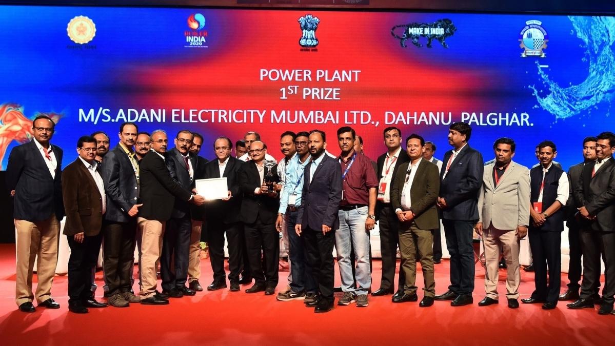 Adani Dahanu Thermal Power Station honoured at Boiler India 2020